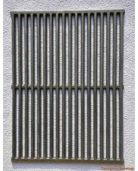 "17.3"" x 10"" Cast Iron Grates (Set of 2)"